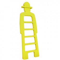 Mr Giò, meuble multifonction, slide design jaune