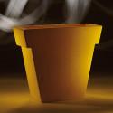 Pot Il Vaso Mat, Slide design orange Petit modèle