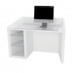 Kanal bureau, Slide Design blanc