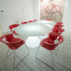 Table lumineuse ED II, Slide Design blanc