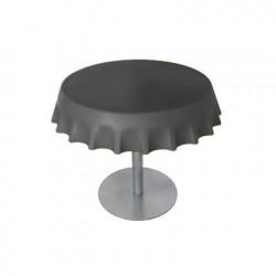 Fizzz, table basse ronde design, Slide Design gris