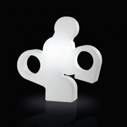 Lampe à poser There, Slide Design blanc