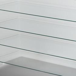 Etagère pour Break Line Bar, Slide Design verre opaque