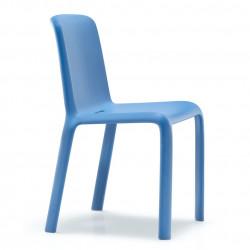Chaise Snow 300, Pedrali bleu