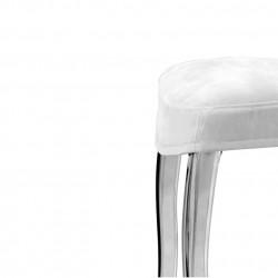 Queen 650.3, lot de 5 coussins pour chaise Queen 650, Pedrali blanc