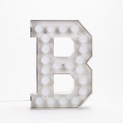 Lettre géante LED Vegaz, Seletti b