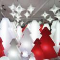 Sapin lumineux Lightree Outdoor, Slide Design blanc Hauteur 150 cm