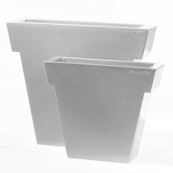 Pot Il Vaso laqué, Slide Design blanc Grand modèle laqué