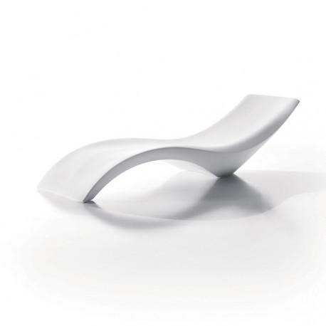 Chaise longue Cloe, MyYour blanc, 220x69xH54 cm