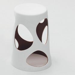Tabouret design Liberty, MyYour noir, hauteur 45 cm
