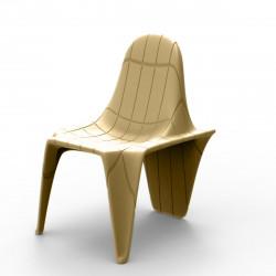 Chaise F3, Vondom beige