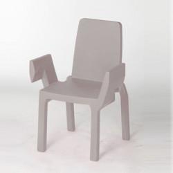 Chaise Doublix, Slide Design gris