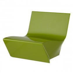 Fauteuil modulable Kami Ichi, Slide Design vert Mat