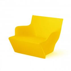 Fauteuil modulable Kami San, Slide Design jaune Mat