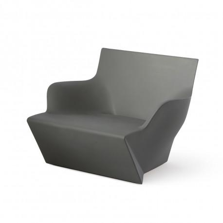 Fauteuil modulable Kami San, Slide Design gris Laqué