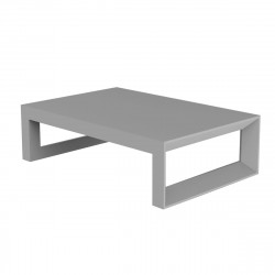 Table basse Frame 120 cm, Vondom acier Mat