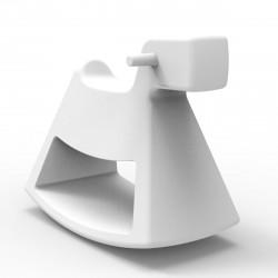 Chaise à bascule Rosinante, Vondom blanc Petit modèle