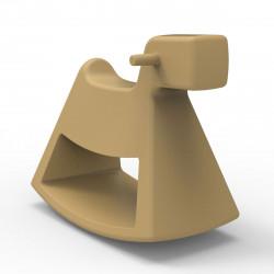 Chaise à bascule Rosinante, Vondom beige Petit modèle