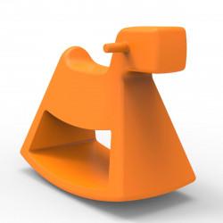 Chaise à bascule Rosinante, Vondom orange Petit modèle