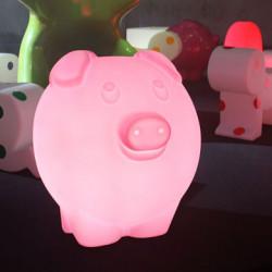 Lampe Peggy, Slide Design rose Lumineux à ampoule