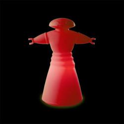 Lampe Mr Bot, Slide Design rouge