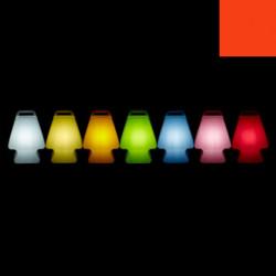 Lampe Prêt à porter, Slide Design rouge Lumineux à ampoule