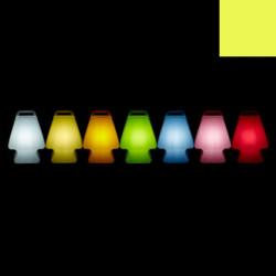 Lampe Prêt à porter, Slide Design jaune Lumineux à ampoule