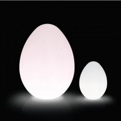 Lampe Dino Outdoor, Slide Design blanc D86xH120 cm