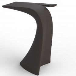 Table haute design Wing, Vondom bronze Mat