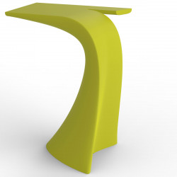 Table haute design Wing, Vondom pistache Mat