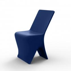Chaise design Sloo, Vondom bleu
