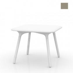 Table Sloo 90, Vondom taupe 90x90x72 cm