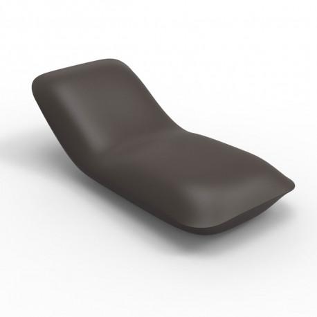 Chaise longue Pillow, Vondom bronze Mat