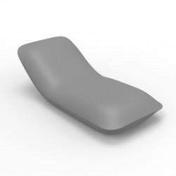 Chaise longue Pillow, Vondom acier Mat