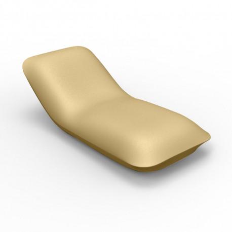 Chaise longue Pillow, Vondom beige Mat