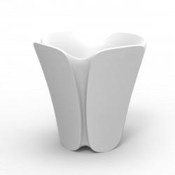 Pot design Pezzettina, Vondom blanc 65x65xH65 cm