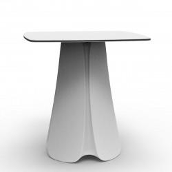 Table design Pezzettina, Vondom blanc 70x70xH72 cm