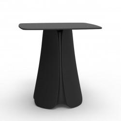 Table design Pezzettina, Vondom noir 80x80xH72 cm