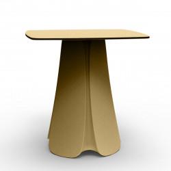 Table design Pezzettina, Vondom beige 90x90xH72 cm