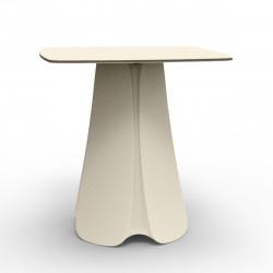 Table design Pezzettina, Vondom écru 90x90xH72 cm