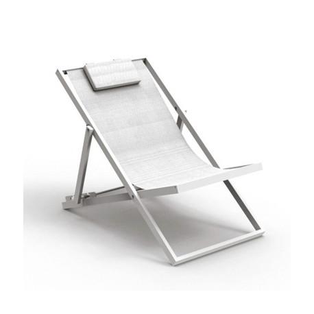 Chaise longue Touch, Talenti blanc