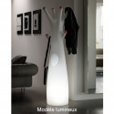 Porte-manteau arbre design Godot, Plust Collection blanc, embouts blancs Mat