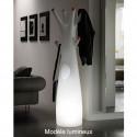 Porte-manteau arbre design Godot, Plust Collection gris, embouts blancs Mat