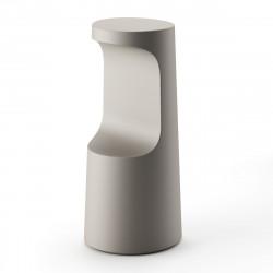Tabouret haut design Fura, Plust Collection sable