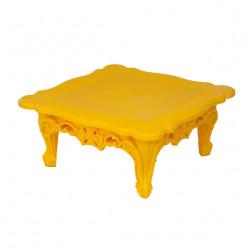 Table basse design Duke of Love, Design of Love by Slide jaune