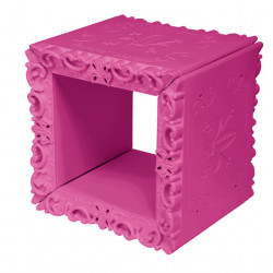 Cube-étagère design Joker of Love, Design of Love by Slide rose fuchsia