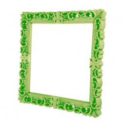 Cadre design Frame of Love, Design of Love by Slide vert citron