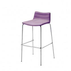Tabouret design Cover, Midj violet lilas