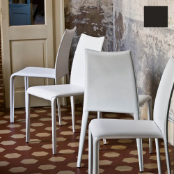 Chaise design Miss, Midj noir