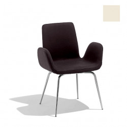 Chaise design Light, Midj blanc